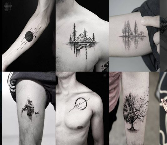 Small Tattoos for men to hide