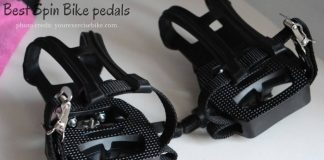 Best pedals for spin bikes